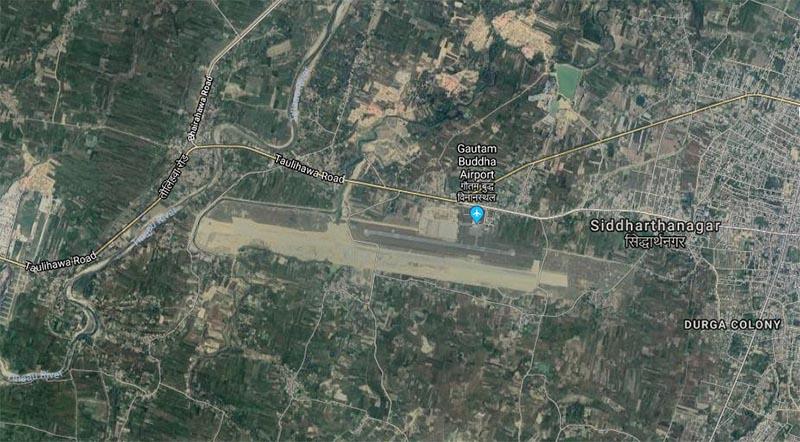 Gautam Buddha International Airport. Photo: googlemaps