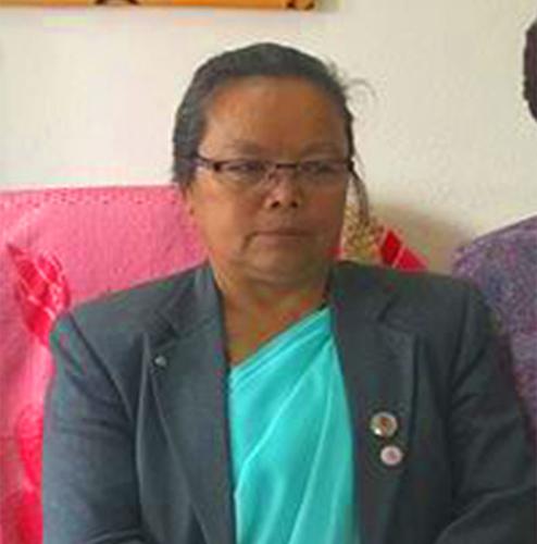 Minister of Women, Children and Senior Citizens Tham Maya Thapa Magar. Photo courtesy: ICA Nepal Twitter