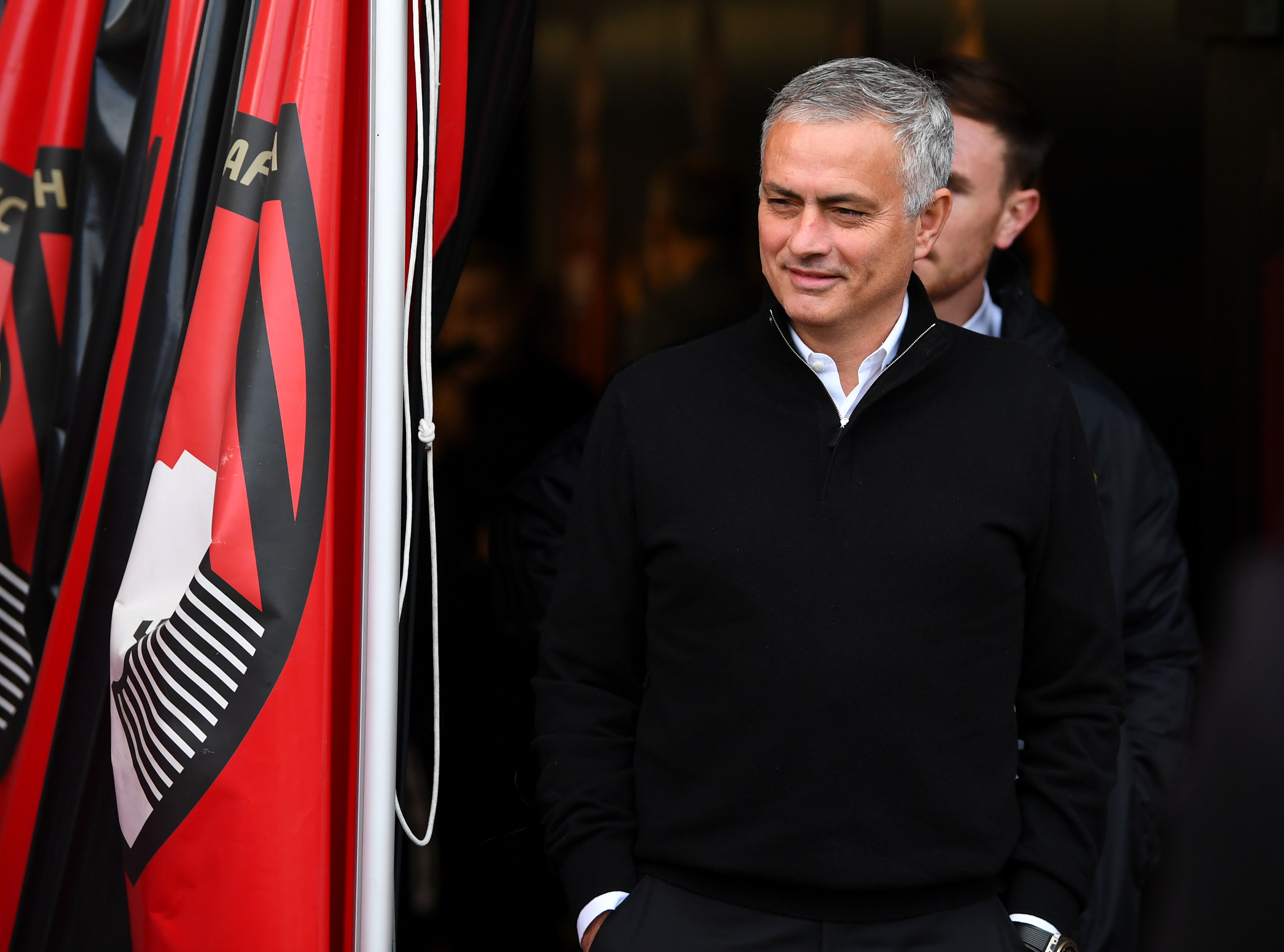 Soccer Football - Premier League - AFC Bournemouth v Manchester United - Vitality Stadium, Bournemouth, Britain - November 3, 2018  Manchester United manager Jose Mourinho before the match. REUTERS