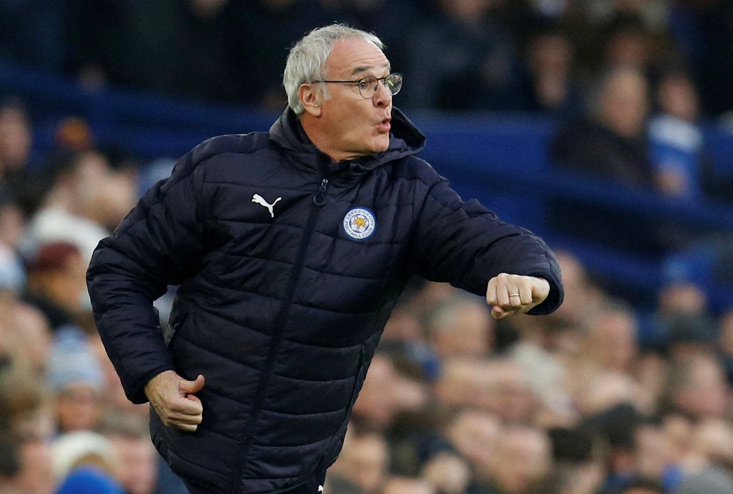 FILE PHOTO: Football Soccer - Everton v Leicester City - FA Cup Third Round - Goodison Park, Liverpool, Britain - January 7, 2017   Leicester City manager Claudio Ranieri. Photo: Reuters