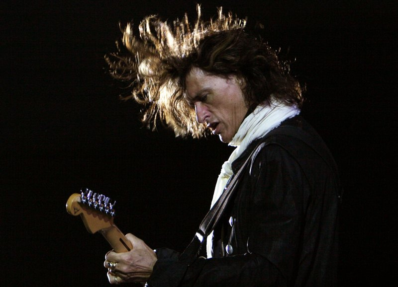 FILE - In this photo, American rock band Aerosmith's guitarist Joe Perry performs during a concert in Bangalore, India on Saturday, June 2, 2007. Photo: AP