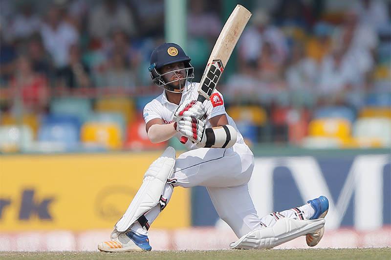 Sri Lanka's Kusal Mendis plays a shot. Photo: Reuters