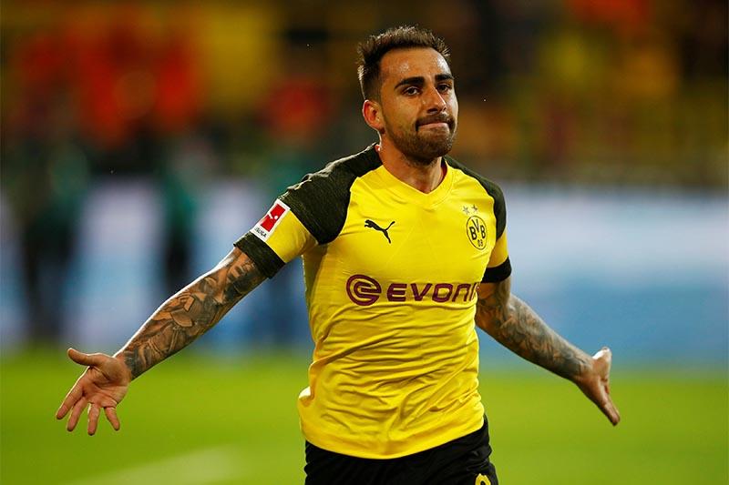 FILE: Borussia Dortmund's Paco Alcacer. Photo: Reuters