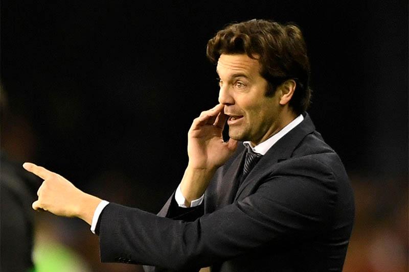 FILE: Real Madrid coach Santiago Solari. Photo: Reuters