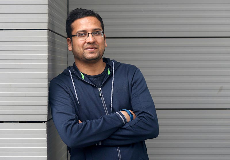FILE PHOTO: Binny Bansal, Group Chief Executive Officer of India's largest e-commerce firm Flipkart, poses at the company's headquarters in Bengaluru, India July 7, 2017.  Photo: Reuters