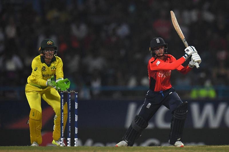 A view of Women's World T20 International final between England and Australia in Antigua. Courtesy: ICC