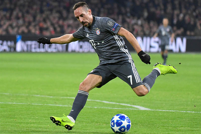Bayern Munich's Franck Ribery in action. Photo: Reuters