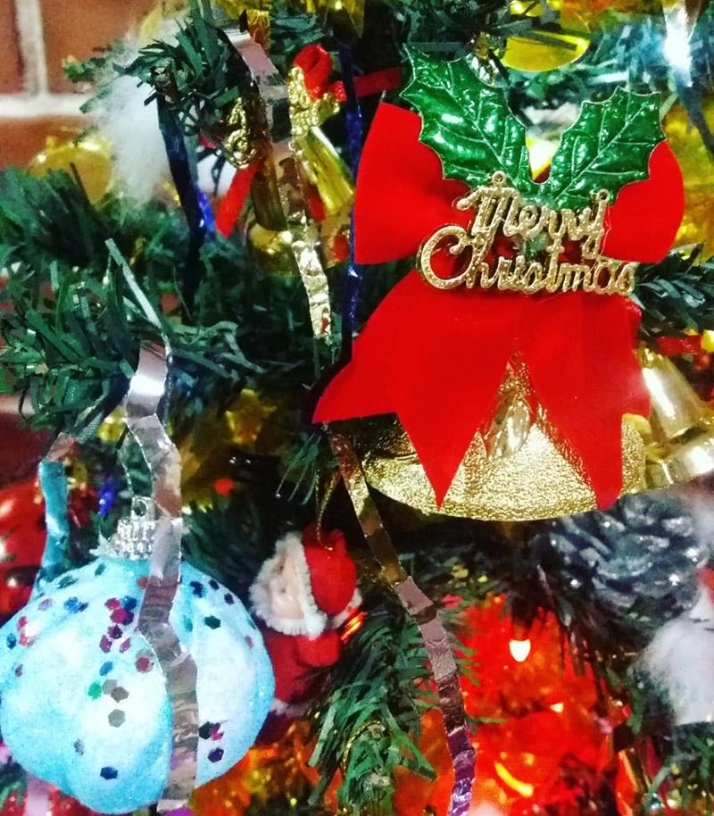 Merry Christmas. Photo: Priyanka Adhikari/THT Online