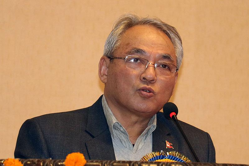 Home minister Ram Bahadur Thapa backs Prime Minister KP Sharma Oli - The  Himalayan Times - Nepal's No.1 English Daily Newspaper | Nepal News, Latest  Politics, Business, World, Sports, Entertainment, Travel, Life Style News