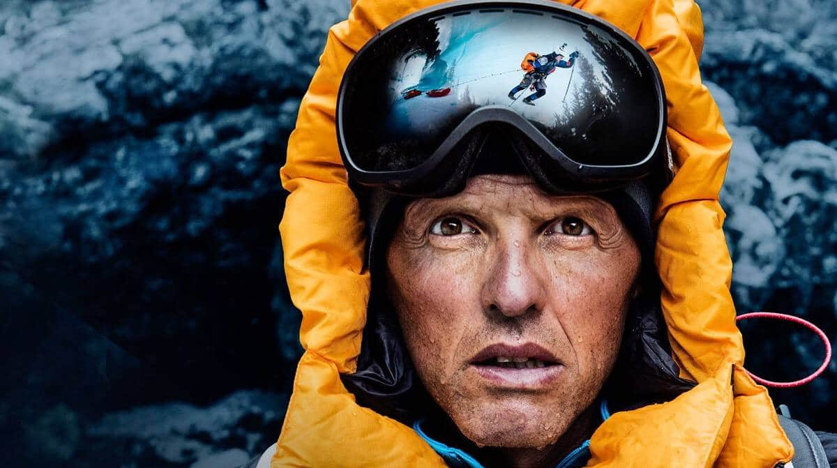 Undated image of Simone Moro, Italian alpinist, writer and aviator. Photo: Adventure Awards