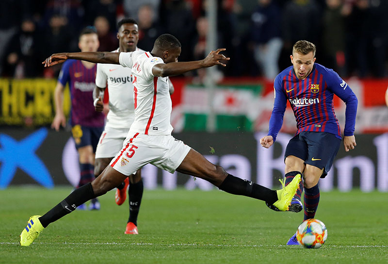 Sevilla Stun Holders Barca 2 0 In Copa Del Rey The Himalayan Times Nepal S No 1 English Daily Newspaper Nepal News Latest Politics Business World Sports Entertainment Travel Life Style News