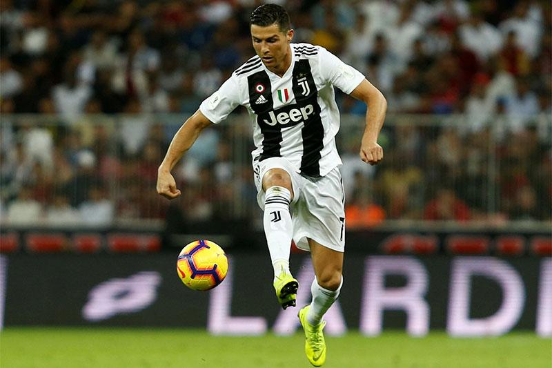 Juventus' Cristiano Ronaldo in action. Photo: Reuters