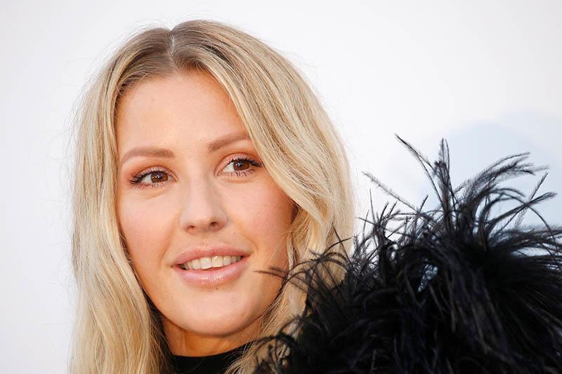 FILE PHOTO: Ellie Goulding poses at 2018 Cinema Against AIDS event. Photo: Reuters
