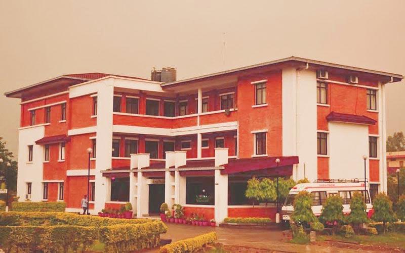A view of Hetauda Community Eye Hospital in Makawanpur, on Sunday, January 6, 2019. Photo: THT
