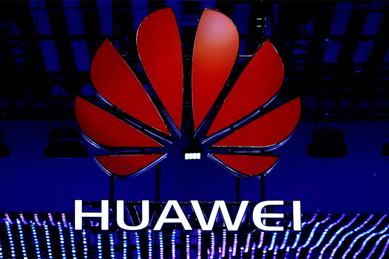 FILE PHOTO: The Huawei logo is seen during the Mobile World Congress in Barcelona, Spain, February 26, 2018. Photo: Reuters