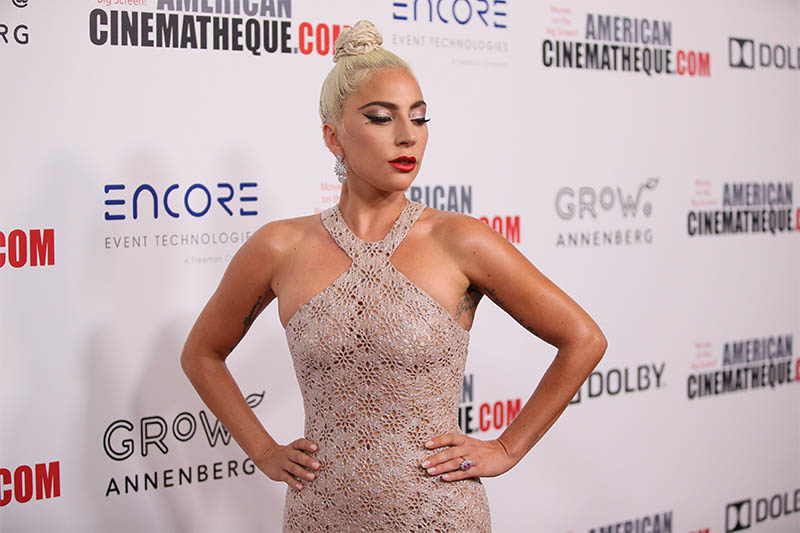 FILE PHOTO: Lady Gaga poses at the American Cinematheque Awards in Beverly Hills, California, US, Nov. 29, 2018. Photo: Reuters