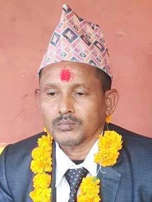 This undated image shows Ratnaman Kunwar (55), proprietor of Asam Hotelk and Khaja Ghar located at Awaroad of Siddharthanagar Municipality in Rupandehi district. Photo: THT