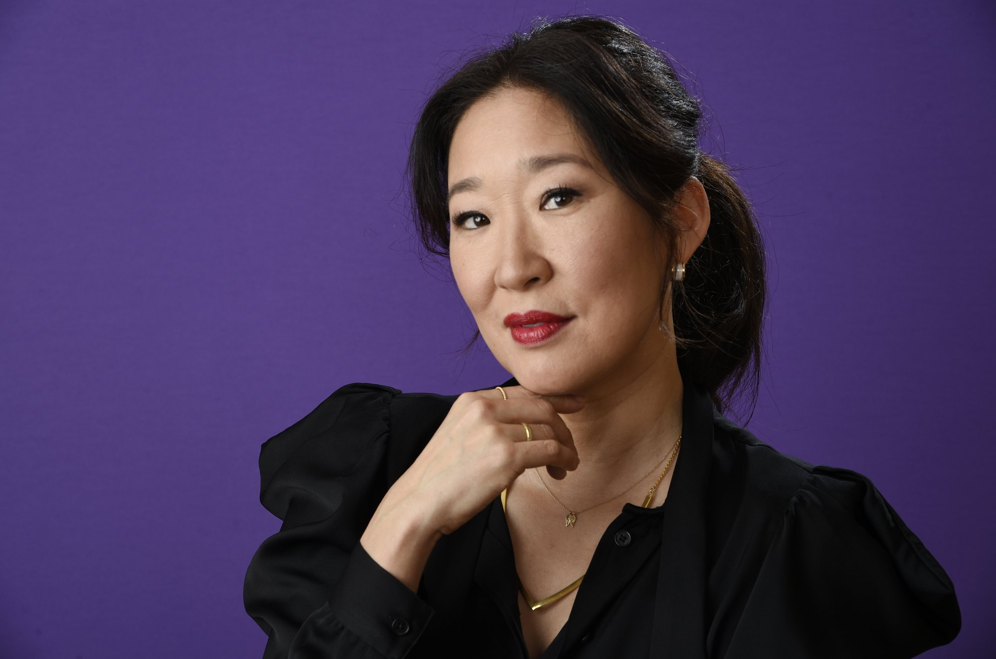 FILE - In this Friday, Jan. 12, 2018 file photo, Sandra Oh poses for a portrait in Pasadena, California. Photo: AP
