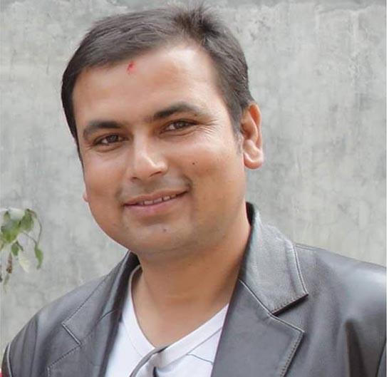 An undated image of Journalist Manohar Dhakal. Photo: Prakash Dahal/THT