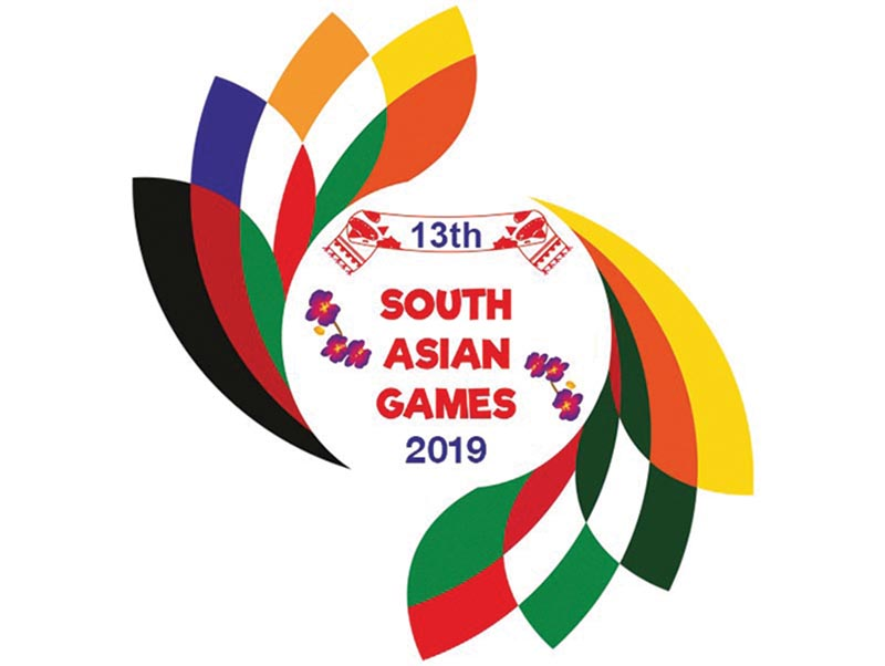 13th South Asian Games logo