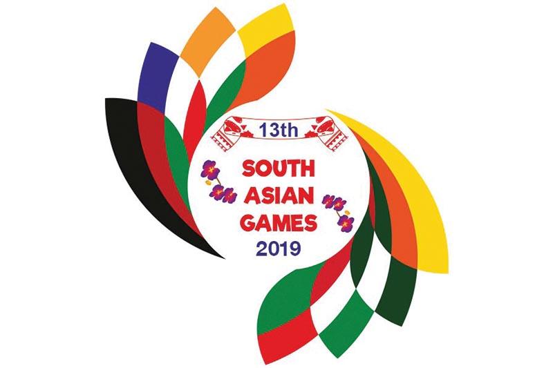 13th South Asian Games logo