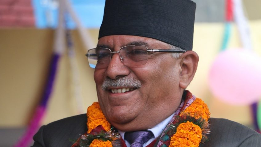 Image courtesy: NCP(NCP) co-chairman Pushpa Kamal Dahal's official website.