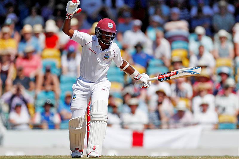 West Indies' Kraigg Brathwaite. Photo: Reuters