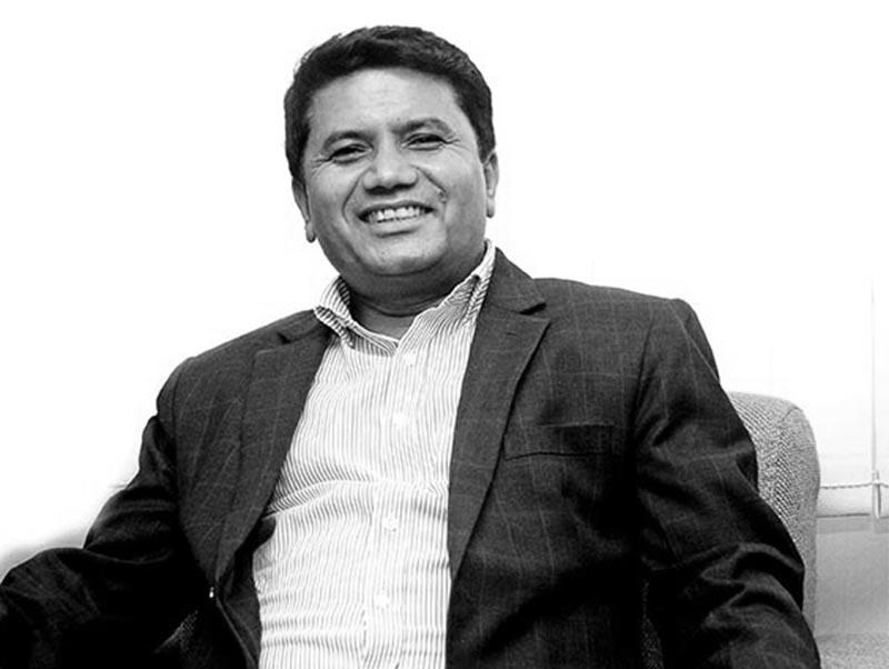 This undate image shows Minister for Culture, Tourism and Civil Aviation Rabindra Adhikari. Photo: Balkrishna Thapa Chhetri/ THT