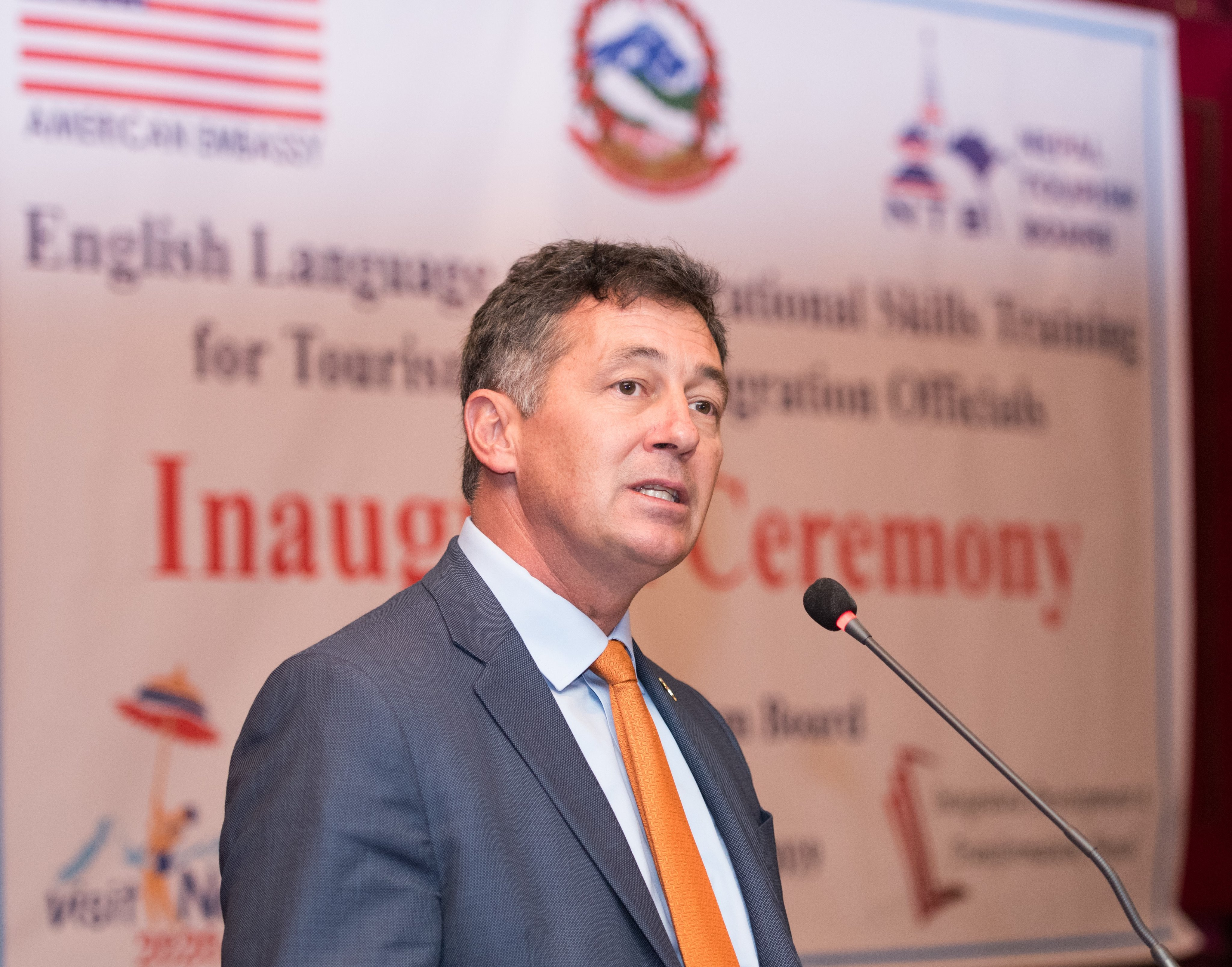 File - This undated image shows United States Ambassador to Nepal Randy Berry. Photo: THT