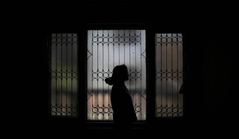 Reuters Illustration on Human trafficking.