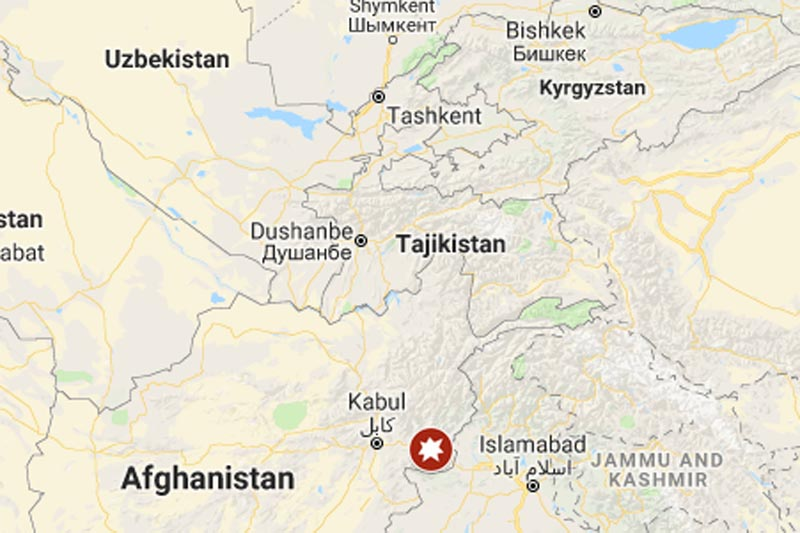 Afghanistan Suicide Bombing. Photo: Google Maps