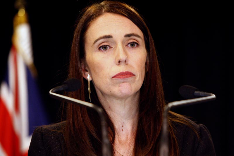 FILE - New Zealand Prime Minister Jacinda Ardern addresses a press conference in Wellington, New Zealand Monday, March 25, 2019. Photo: AP