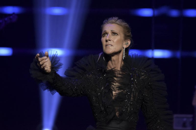 Celine Dion announces Courage World Tour, set to kick-off on September 18, 2019, during a special live event at The Theatre at Ace Hotel on Wednesday, April 3, 2019, in Los Angeles. Photo: AP