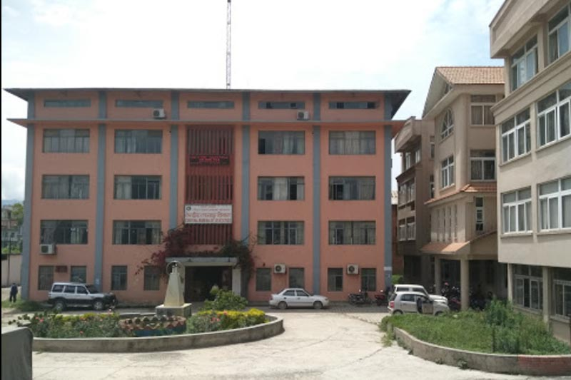 This image shows the building of Central Bureau of Statistics, in Thapathali, Kathmandu, in June, 2017. Photo courtesy: Pushpendra Khadka