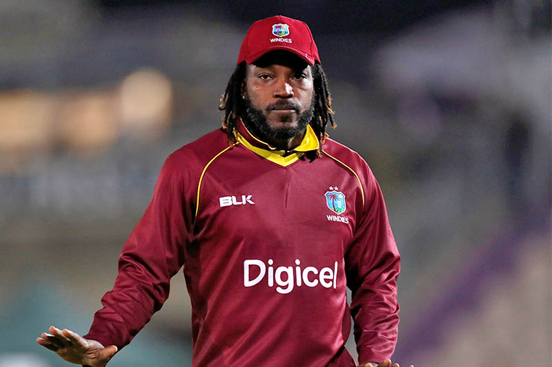 FILE: West Indies' Chris Gayle in action. Photo: Reuters