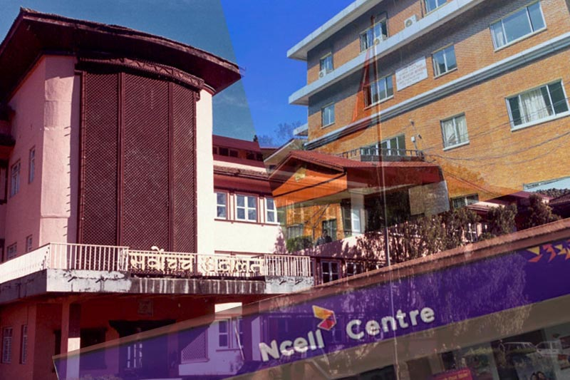 This rendering image shows the Supreme Court in the background of the Ncell centre and Large Taxpayers' Office. Image: THT