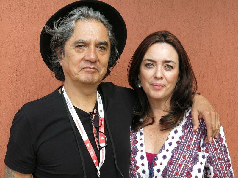 FILE - In this Dec. 5, 2015 file photo, Mexican musician Armando Vega Gil, left, and author Beatriz Rivas pose for a portrait during the Guadalajara International Book Fair in Guadalajara, Mexico. Photo: AP