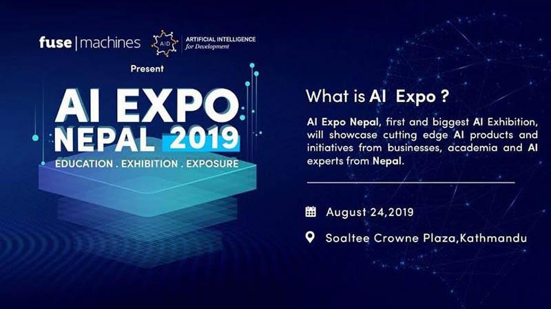 AI Expo Nepal 2019. Courtesy: Fusemachines