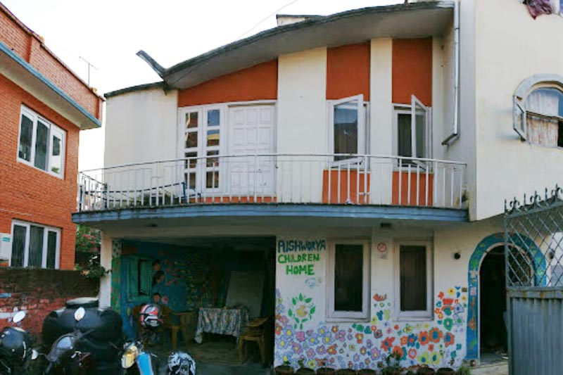 This undated image shows Aishworya Children Home in Sukedhara, Kathmandu. Photo: Google maps integration