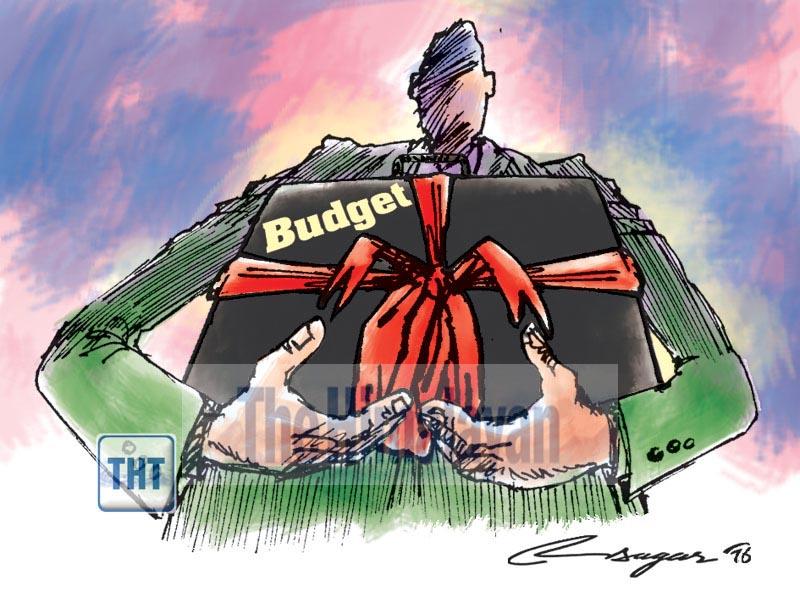 Budget. Illustration: Ratna Sagar Shrestha/THT