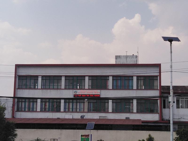 Department of Transport Management in Kathmandu, on Sunday, May 19, 2019. Photo: Sandeep Sen/ THT Online