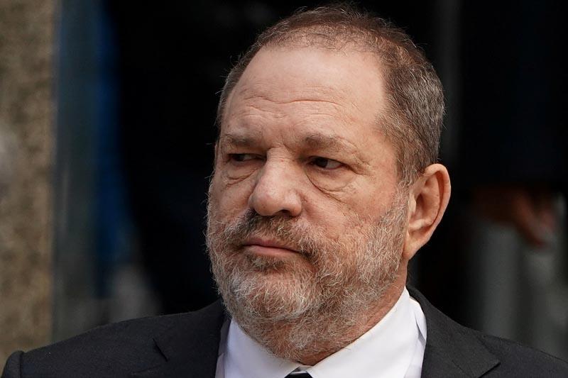 FILE PHOTO - Film producer Harvey Weinstein departs after a hearing to change his counsel at New York Supreme court in the Manhattan borough of New York City, New York, US, January 25, 2019. Photo: Reuters
