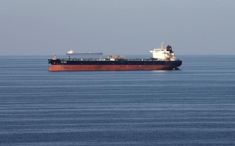 Oil tankers pass through the Strait of Hormuz, December 21, 2018. Phot: Reuters/File