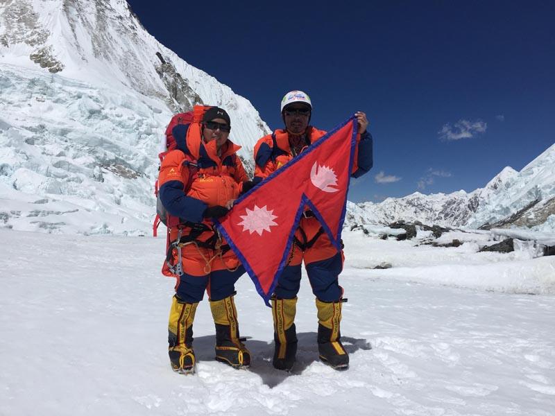 Kanchhi Maya and Pemba Dorje. Photo: Courtesy: Kanchhi Maya