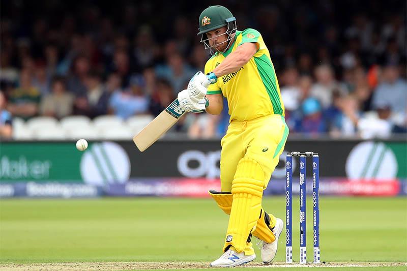 Australia's Aaron Finch in action. Photo: Reuters