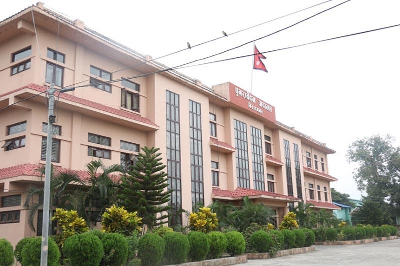 File - This image shows Biratnagar High Court, in Morang district, in September, 2016. Photo courtesy: Madan K Pradhan via Google Maps ingtegration