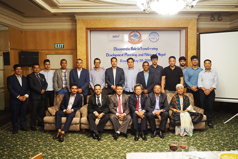 Participants at the programme organised in Bangkok by NPI in coordination with Non-Resident Nepali Association (NRNA), Thailand. Photo: NPI