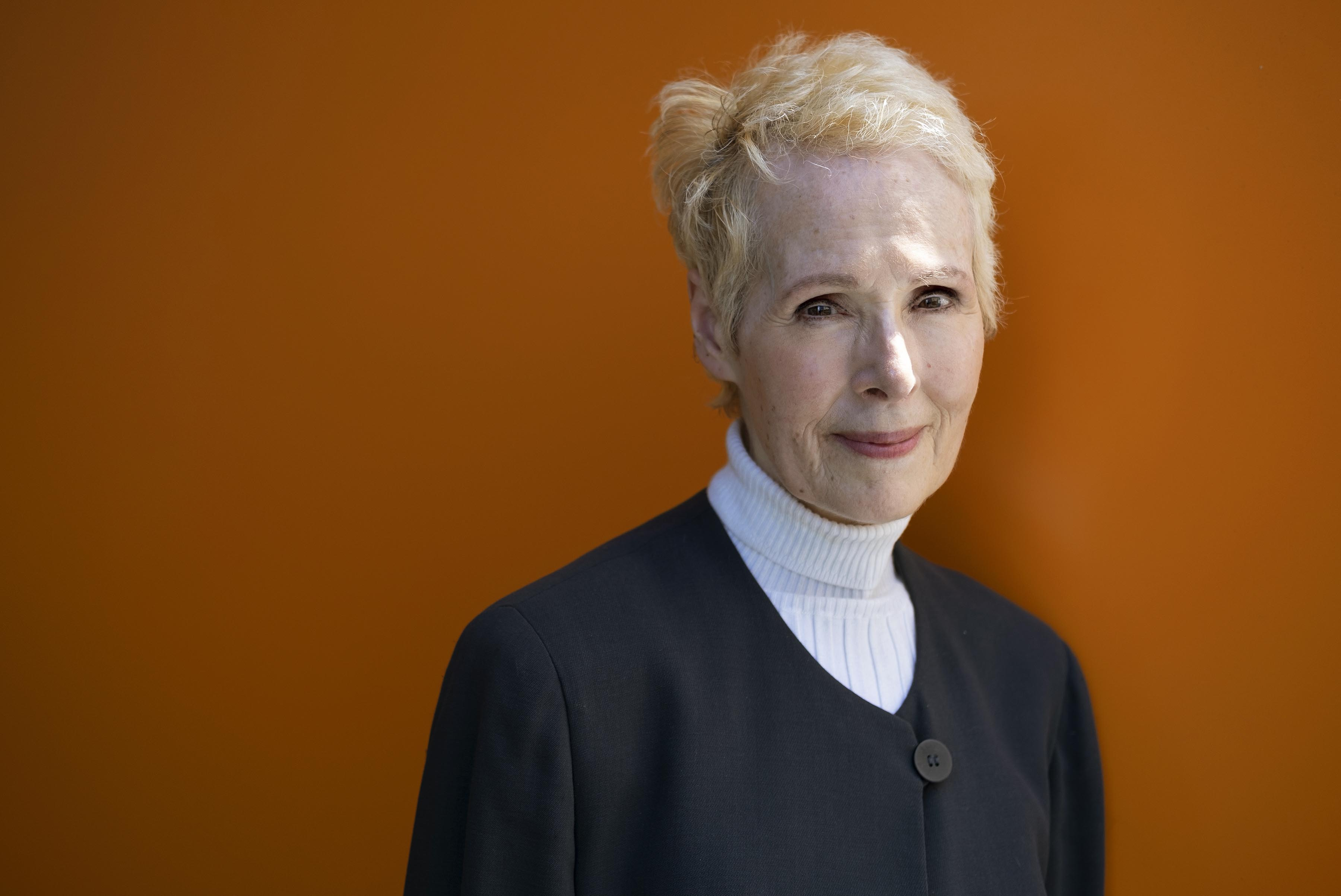 E Jean Carroll is photographed, Sunday, June 23, 2019, in New York. Photo: AP