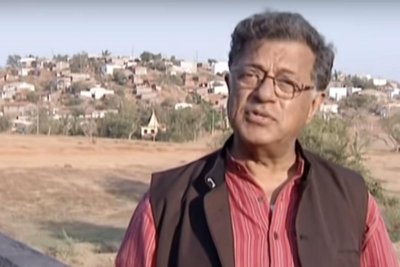 A screenshot of Girish Karnad taken from a YouTube video. Photo Courtesy: YouTube