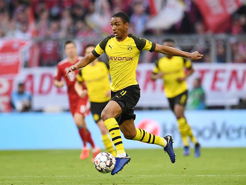 Borussia Dortmund's Abdou Diallo in action. Photo: Reuters